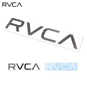 RVCA/ルーカ メンズ ロゴステッカー シール 防水 カッティング  R00-S05 ocstyle