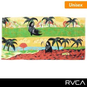 RVCA/ルーカ メンズ 大判 タオル バスタオル ビーチタオル 80×160cm ビーチ 海水浴 プール AG041-937 ocstyle