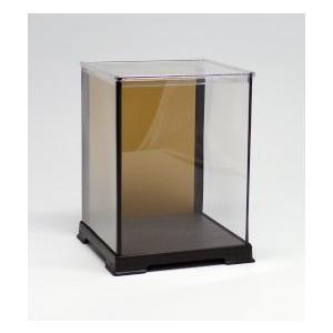 オクタゴン 金張りケース 横幅12×奥行12×高さ08 (cm) 人形ケース 雛人形ケース コレクシ...