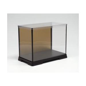 人形ケース フィギュアケース ディスプレイケース 横幅30×奥行18×高さ16(cm) 横長 金張り|octagon