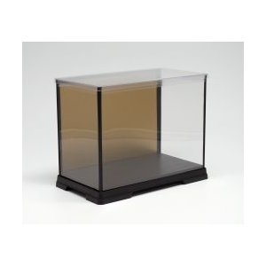 人形ケース フィギュアケース ディスプレイケース 横幅30×奥行18×高さ40(cm) 横長 金張り|octagon