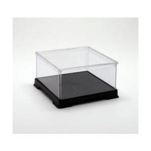 フィギュアケース ディスプレイケース 人形ケース 横幅15×奥行15×高さ08(cm) 透明プラ