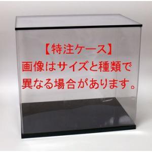 フィギュアケース ディスプレイケース 人形ケース 横幅50×奥行32×高さ35(cm) 横長 透明プラ|octagon