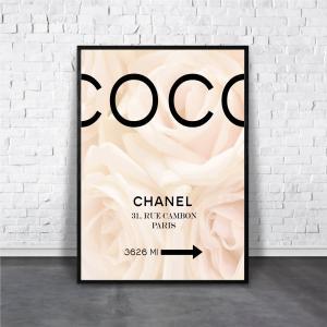 アートポスター/Aroma of Paris/選べる7サイズ&ポスター単品orフレームセット/Design:#006|octopus-goods01