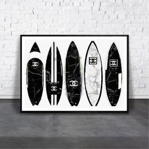 アートポスター/Aroma of Paris/選べる7サイズ&ポスター単品orフレームセット/Design:#030|octopus-goods01