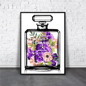 アートポスター/Aroma of Paris/選べる7サイズ&ポスター単品orフレームセット/Design:#063|octopus-goods01