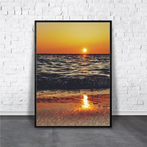 アートポスター/ブランド・北欧風・モダンアート/インテリア用/A4(210 x 297mm)/ポスターのみ/AP#064 octopus-goods01