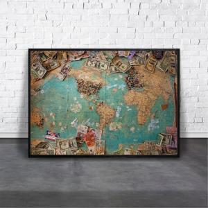 アートポスター/Aroma of Paris/選べる7サイズ&ポスター単品orフレームセット/Design:#070|octopus-goods01