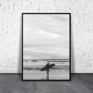 アートポスター/ブランド・北欧風・モダンアート/インテリア用/A4(210 x 297mm)/ポスターのみ/AP#100 octopus-goods01