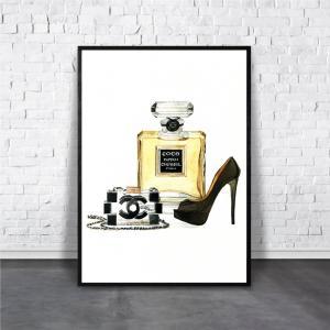 アートポスター/Aroma of Paris/選べる7サイズ&ポスター単品orフレームセット/Design:#111|octopus-goods01