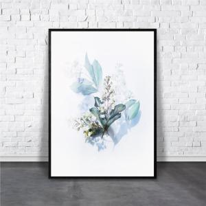 アートポスター/Aroma of Paris/選べる7サイズ&ポスター単品orフレームセット/Design:#257|octopus-goods01