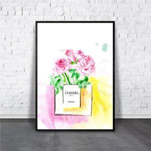 アートポスター/Aroma of Paris/選べる7サイズ&ポスター単品orフレームセット/Design:#262|octopus-goods01