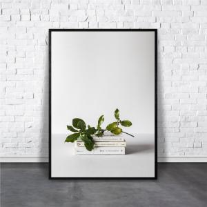 アートポスター/Aroma of Paris/選べる7サイズ&ポスター単品orフレームセット/Design:#276|octopus-goods01