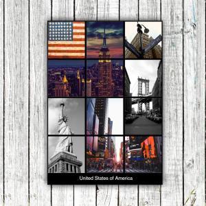 アートポスター/Aroma of Paris/選べる7サイズ&ポスター単品orフレームセット/Design:#614|octopus-goods01