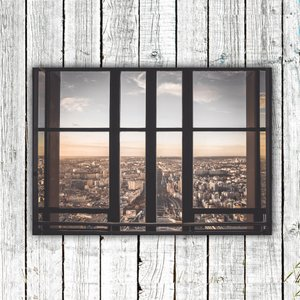 アートポスター/Aroma of Paris/選べる7サイズ&ポスター単品orフレームセット/Design:#635|octopus-goods01