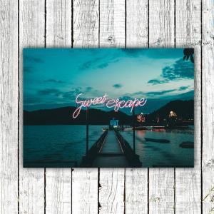 アートポスター/Aroma of Paris/選べる7サイズ&ポスター単品orフレームセット/Design:#637|octopus-goods01