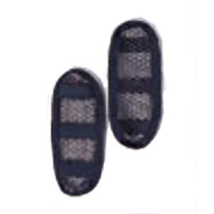 Ripen ライペン アライテント ハニカムメッシュ製ショルダーパッドセット 0201500 ブラック バックパック ザック アウトドア 釣り 旅行用品|od-yamakei