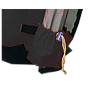 Ripen ライペン アライテント フレームポケット 0210100 ブラック バックパック ザック アウトドア 釣り 旅行用品 バッグ用アタッチメント|od-yamakei