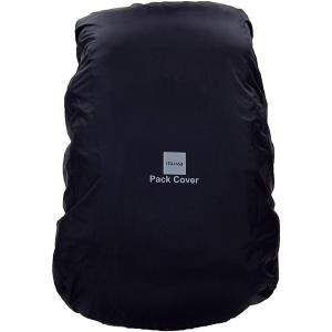 ISUKA イスカ パックカバー 80L/ブラック 261501 レインカバー ザックカバー アウトドア 釣り 旅行用品 アウトドアギア|od-yamakei