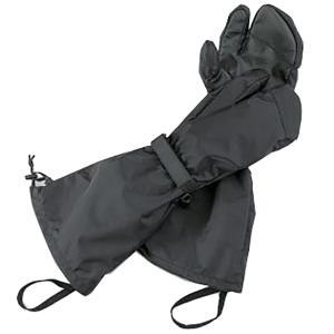 ISUKA イスカ ウェザーテック オーバーミトン フリー/ブラック 239101 手袋 アウトドア 釣り 旅行用品 キャンプ ウェアアクセサリー|od-yamakei