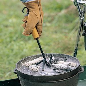 OUTDOOR LOGOS ロゴス ウッドグリップリフター 81062202 ダッチオーブン アウトドア 釣り 旅行用品 キャンプ アウトドアギア od-yamakei