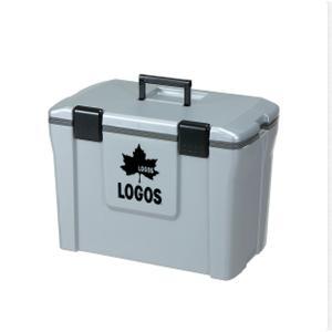 OUTDOOR LOGOS ロゴス アクションクーラー25 グレー 81448013-4 クーラーボ...