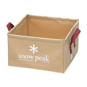 snow peak スノーピーク パックシンク FP-151 ウォータージャグ アウトドア 釣り 旅行用品 キャンプ バケツ バケツ アウトドアギア|od-yamakei