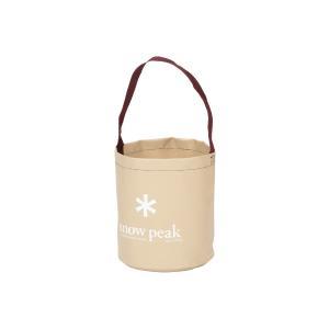 snow peak スノーピーク キャンプバケツ FP-152 ベージュ ウォータージャグ アウトドア 釣り 旅行用品 キャンプ アウトドアギア|od-yamakei