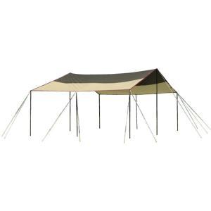 ogawa campal 小川キャンパル フィールドタープレクタL-DX 3335 大型シェルタータープ アウトドア 釣り 旅行用品 キャンプ スクエア型タープ|od-yamakei