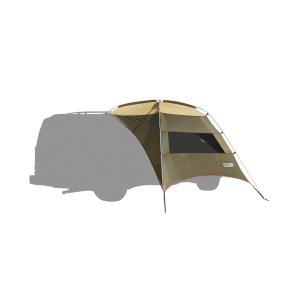 ogawa campal 小川キャンパル カーサイドタープAL/ブラウン×サンド×レッド 80 2332 キャンプ大型シェルタータープ アウトドア 釣り 旅行用品 キャンプ od-yamakei