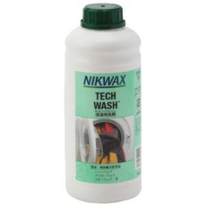 納期:2019年06月下旬になる予定です NIKWAX ニクワックス テックウォッシュ1L EBE183|od-yamakei