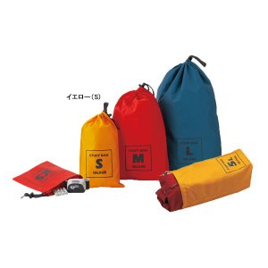 ISUKA イスカ スタッフバッグ S/レッド 355119 アウトドア 釣り 旅行用品 キャンプ アウトドアギア|od-yamakei|02