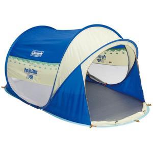 Coleman コールマン ポップアップシェード アーガイル/ブルー 170T16600J ブルー アウトドア 釣り 旅行用品 キャンプ 登山 サンシェード サンシェード|od-yamakei