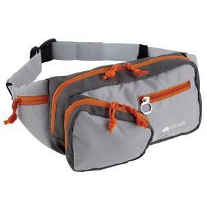 OUTDOOR LOGOS ロゴス サーマウントヒップ グレー 88250122 ウエストポーチ スポーツ マラソン ランニング バッグ ウェストバッグ ウェストバッグ|od-yamakei