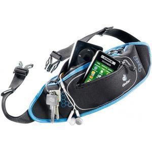 deuter ドイター ネオベルトIIブラック×クールブルー D39050-7301 男性用 ウエストポーチ スポーツ マラソン ランニング バッグ ウェストバッグ|od-yamakei