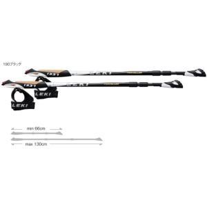 LEKI レキ スマートトラベラーカーボン Intl /190ブラック 1300237 登山 ストック アウトドア 釣り 旅行用品 ノルディックウォーキングポール|od-yamakei