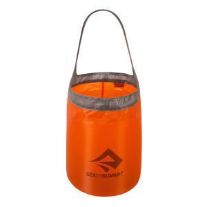 SEA TO SUMMIT シートゥーサミット ウルトラシル フォールディング バケット/オレンジ/ブラック/10L ST84096 オレンジ ウォータージャグ アウトドア 釣り|od-yamakei