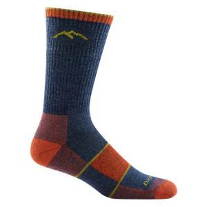DARN TOUGH ダーンタフソックス メンズ1405ブーツソックフルクッション/デニム/L 19441405 男性用 ブルー ショートソックス ファッション 下着 靴下|od-yamakei