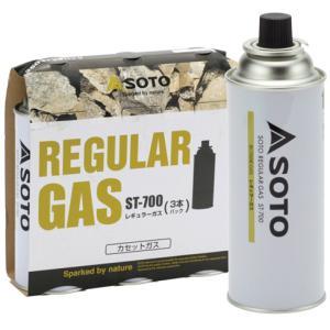 SOTO ソト 新富士バーナー REGULAR GAS 1本 ST-700- アウトドア用ガス OD缶 アウトドア 釣り 旅行用品 カセットガス カセットガス アウトドアギア|od-yamakei