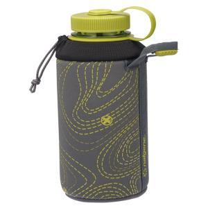 NALGENE ナルゲン 広口1LケースBottleSleeve 92232 グレー 水筒 アウトドア 釣り 旅行用品 キャンプ 水筒・ボトル用アクセサリーパーツ アウトドアギア|od-yamakei