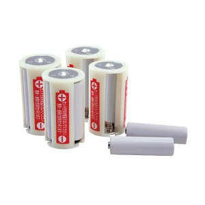 belmont ベルモント 電池スペーサー4Pパック単3→単1 BM-251 アウトドア 釣り 旅行用品 キャンプ 登山 電池 アウトドアギア|od-yamakei