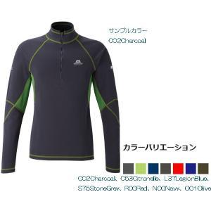MOUNTAIN EQUIPMENT マウンテン・イクィップメント Integral Zip Neck/チャコール C02 /L 421927 ニット セーター ファッション メンズファッション|od-yamakei