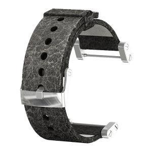 SUUNTO(スント) [正規品]コア レザーストラップ ブラック(マット) SS014444000 腕時計用ベルト バンド ファッション 腕時計 アクセサリー 腕時計用品|od-yamakei