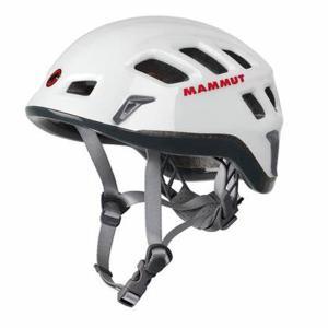Mammut マムート [廃盤特価30]Mammut Rock Rider/white-smoke.56-61cm 2220-00130 ホワイト アウトドアヘルメット アウトドア 釣り 旅行用品 od-yamakei