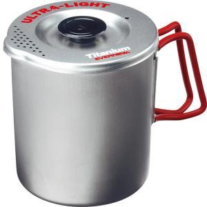 EVERNEW エバニュー チタン パスタもクッカーS RED ECA521R グリル キッチン 日用品 文具 台所用品 単品クッカー 単品クッカーチタン アウトドアギア|od-yamakei