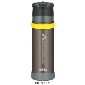THERMOS サーモス 新製品「山専ボトル」ステンレスボトル/0.5L/ブラック BK FFX-500 山専用ボトル 山専用ボトル 水筒 アウトドア 釣り 旅行用品 キャンプ|od-yamakei