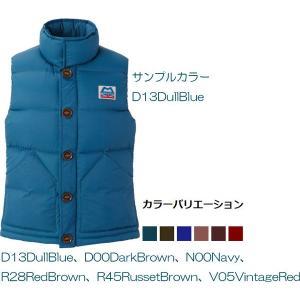 MOUNTAIN EQUIPMENT(マウンテン・イクィップメント) Ws Classic Down Vest/レッドブラウン(R28)/S 422313|od-yamakei