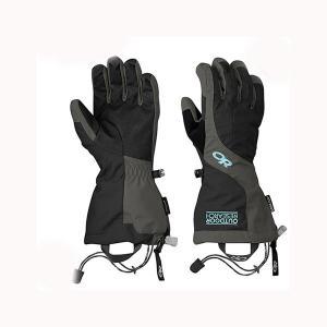 Outdoor Research アウトドアリサーチ ORWomensAreteGloves/black/charcoal/M 19840050 女性用 ブラック アウトドアウェア小物 手袋 アウトドア 釣り od-yamakei