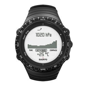 SUUNTO スント [正規品・2年保証]CORE REGULAR BLACK コア レギュラーブラック SS014809000 腕時計 ファッション アクセサリー メンズ腕時計|od-yamakei