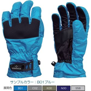 AXESQUIN アクシーズクイン Ms Rain Glove/シルバー S58 /M RG3553 手袋 アウトドア 釣り 旅行用品 キャンプ レイングローブ レイングローブ|od-yamakei